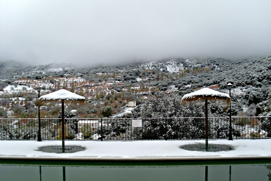 Vista desde la Piscina Nevada